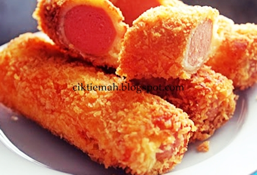 Resepi masakan roti sosej gulung