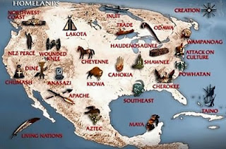 US Tribes Map