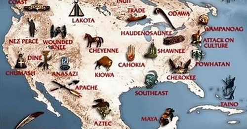 Tribal Names And Their Meanings Native History Magazine - Native american tribes arkansas map