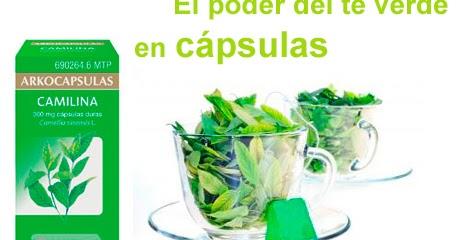 BCN Pharma, tu Farmacia Online: Camilina o té verde, el