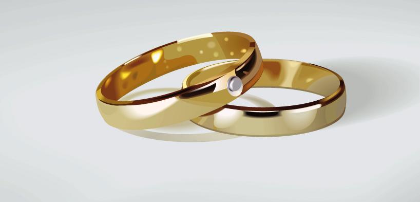 Anillos de matrimonio para imprimir-Imagenes y dibujos para imprimir