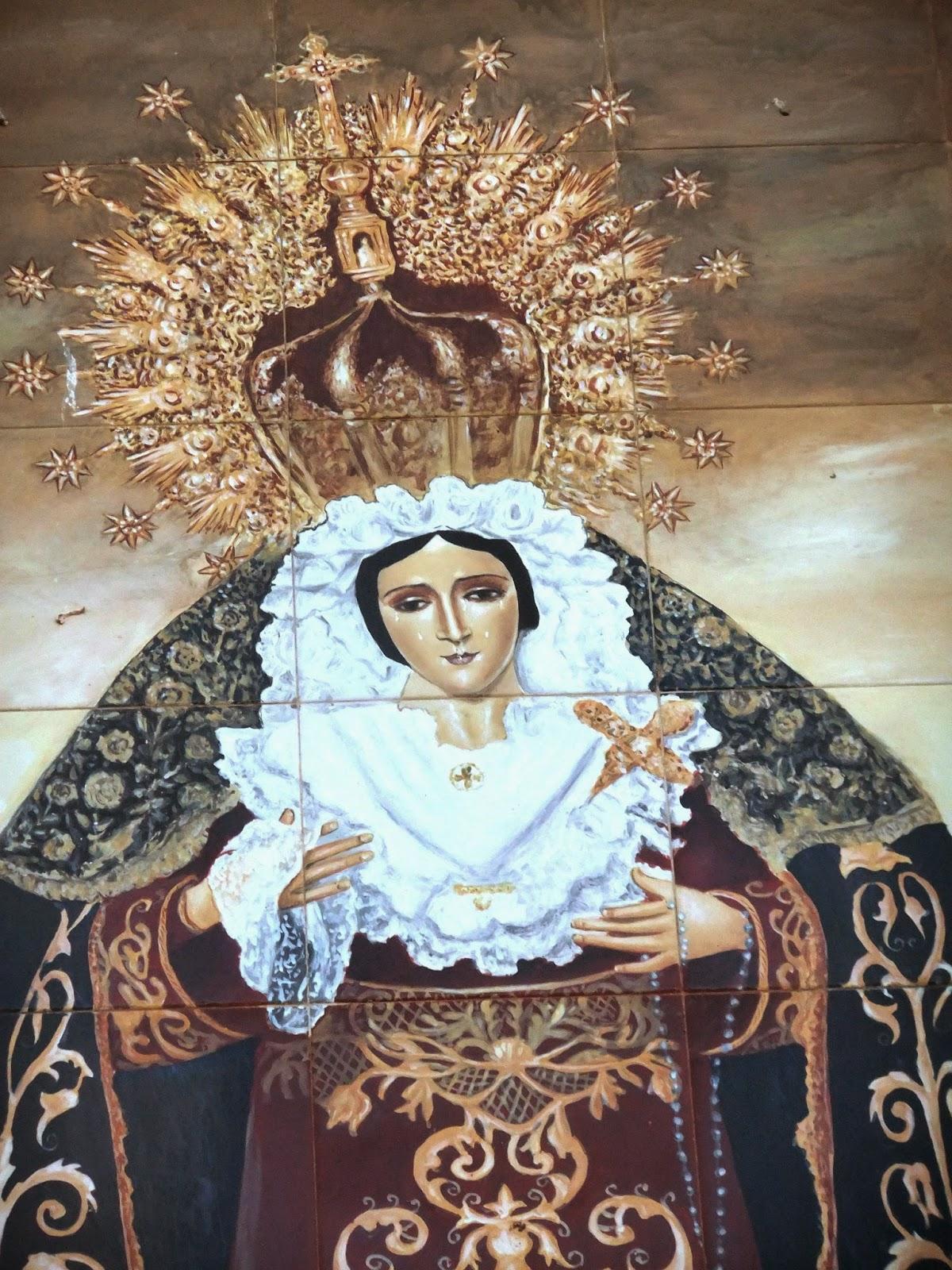 Mosaicos de m laga mosaico 1059 ntra sra de los for El ceramista cordoba