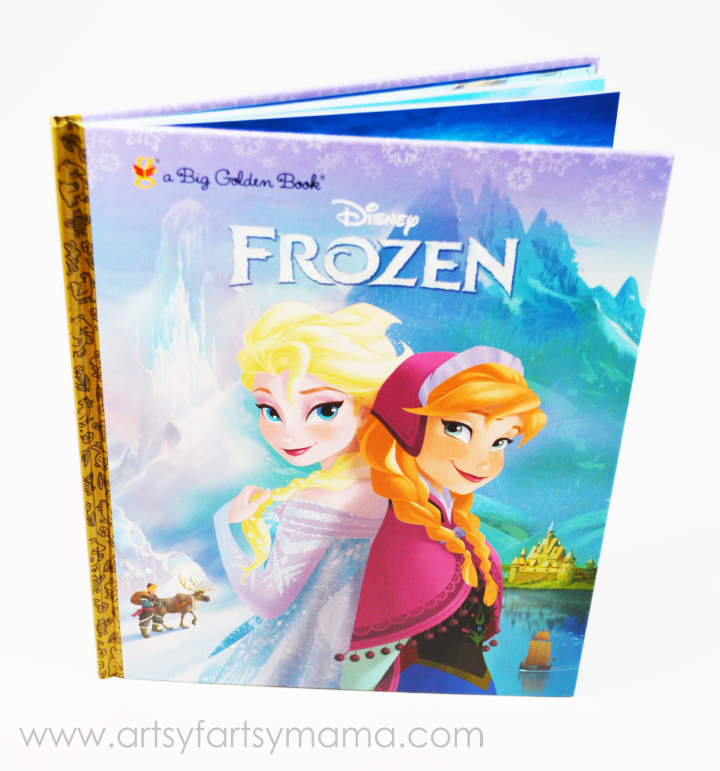 Disney FROZEN books now at Walmart on artsyfartsymama.com #FrozenFun #shop #cbias