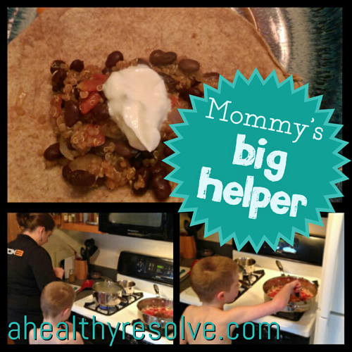 Mommy's Big Helper