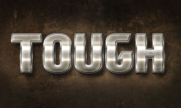 How to Create a Brushed Metal Text Effect in Adobe Photoshop