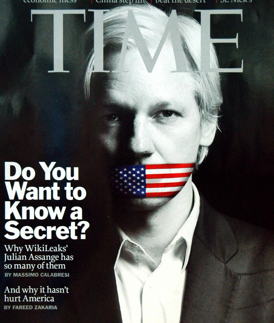 The Time Magazine cover in
