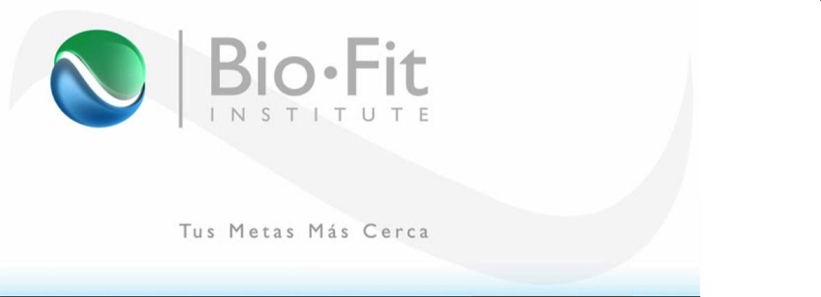 Bio-Fit Institute - Artículos de Interés