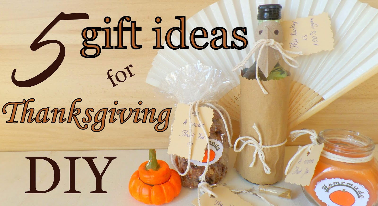 The Fluffy Hedgehog 5 Gift Ideas For Thanksgiving DIY