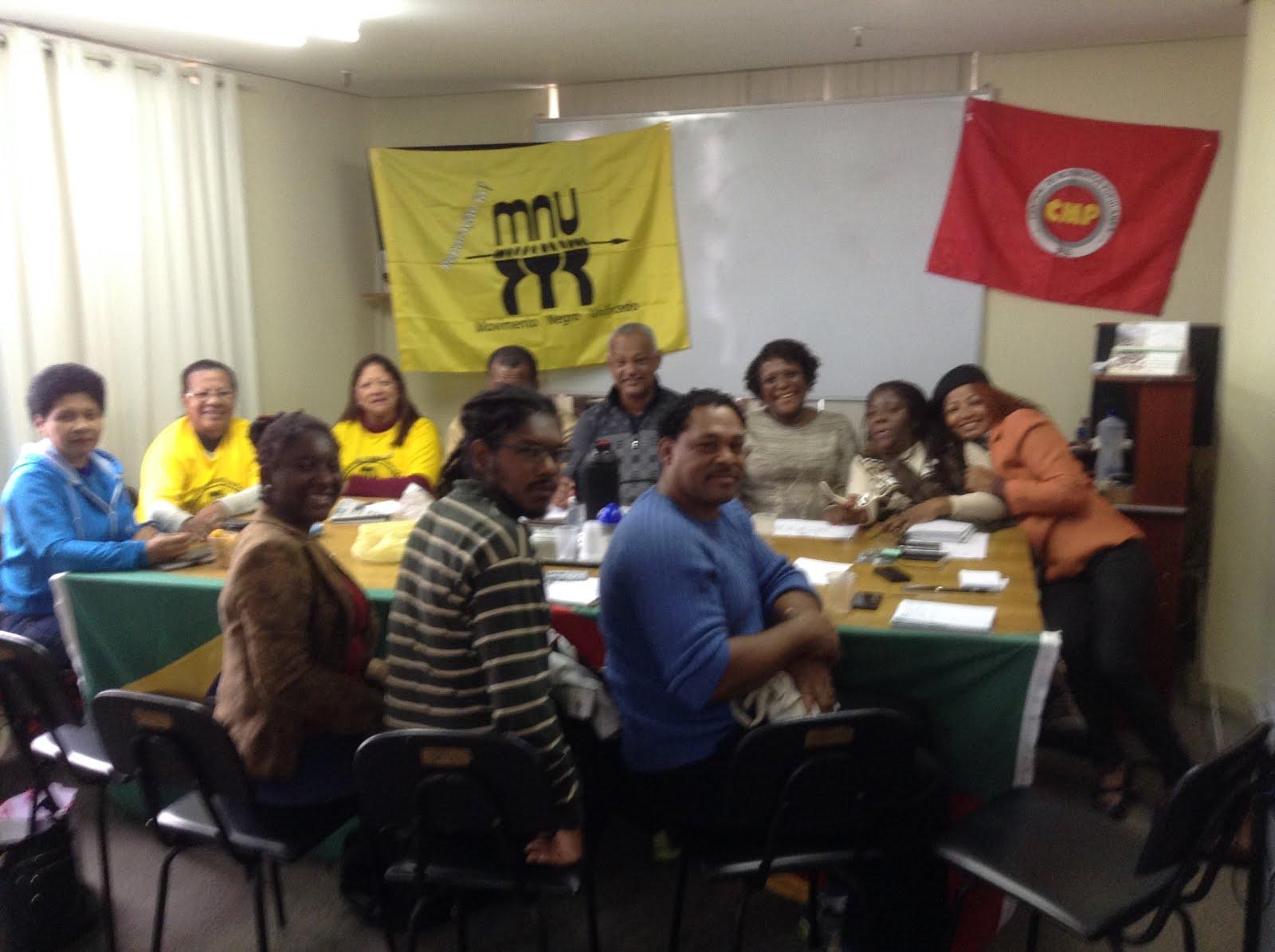 Reunião da Coordenação Estadual MNU/RS
