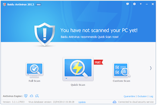 Baidu Antivirus 2013 3.6.1.43145