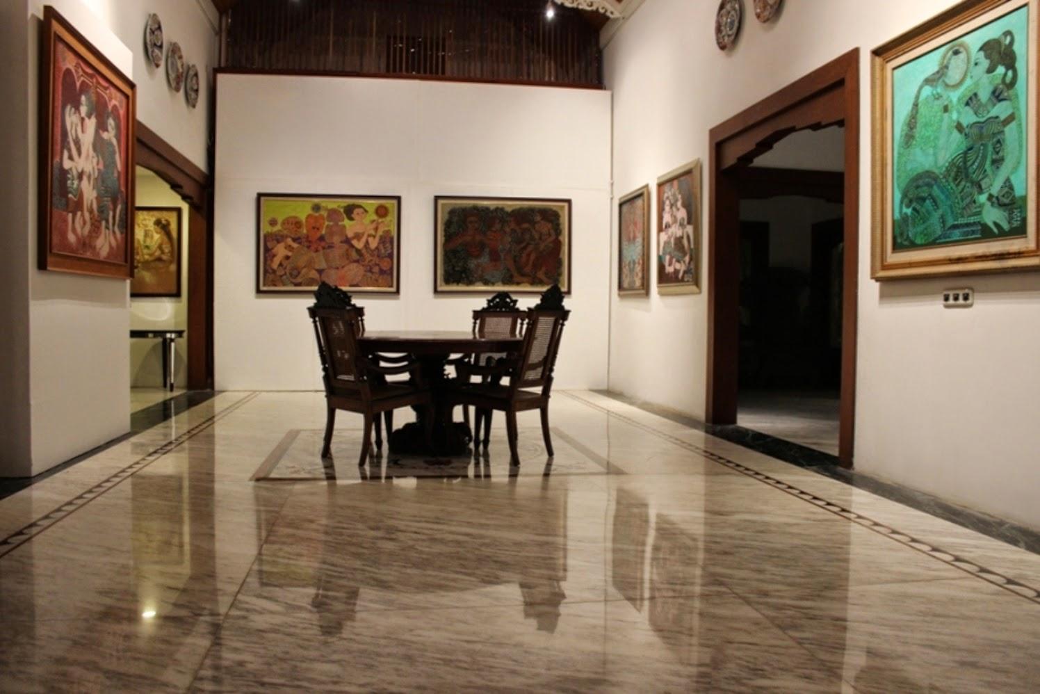 Painting exhibition (Hasan Djaafar,Irsam,Suroso,Otto Djaya)