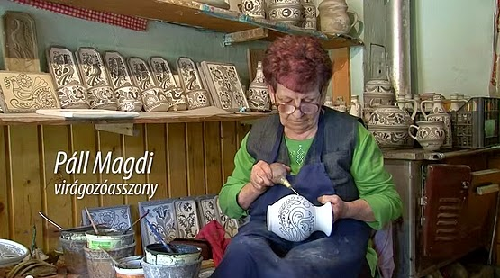 Páll Magdi virágozóasszony