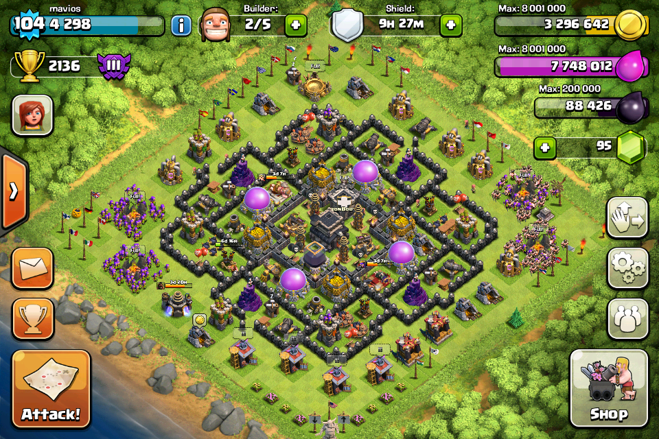 Misguided minds th9 anti hog giant bases