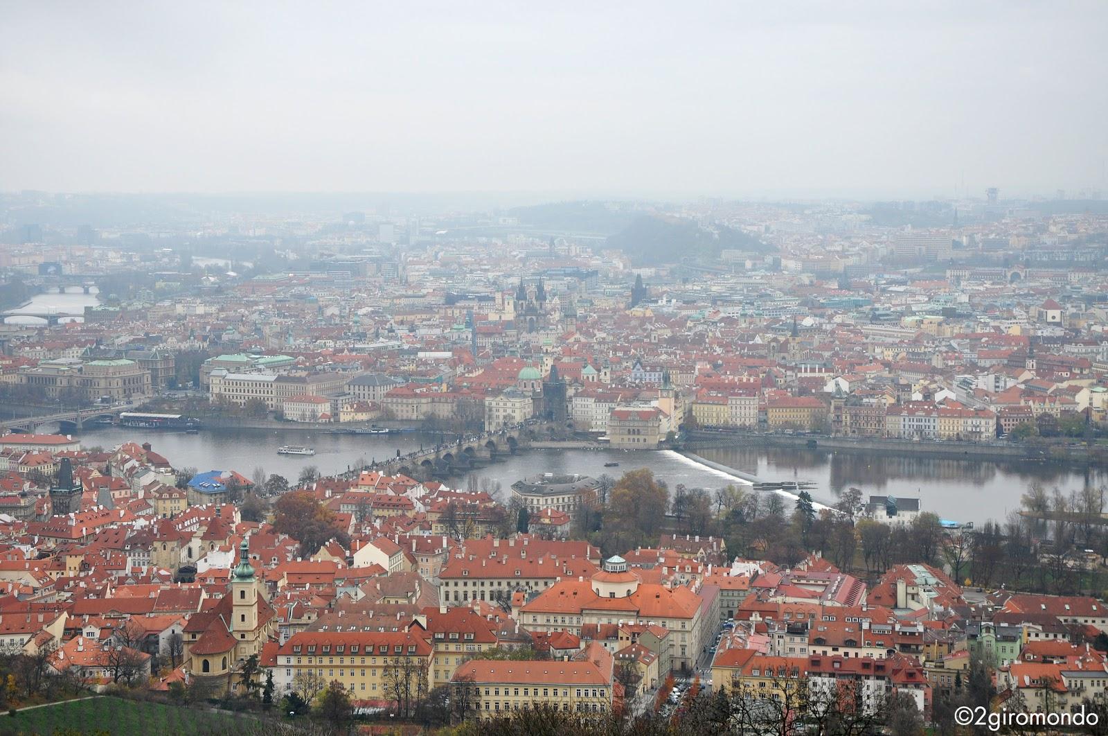 Veduta su Praha