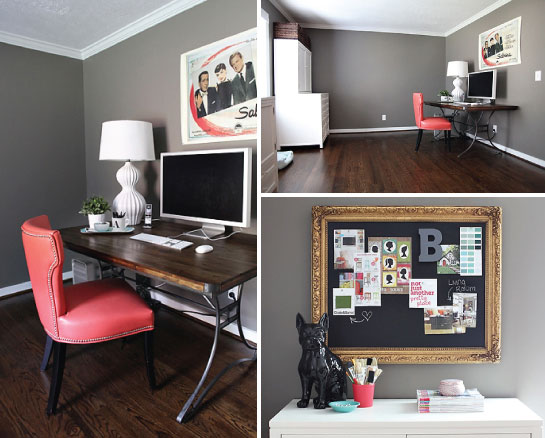 Iheart organizing uheart organizing a home office to admire - Organized office desk ...