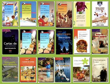 uns cuantos libros de Agustín fernández paz