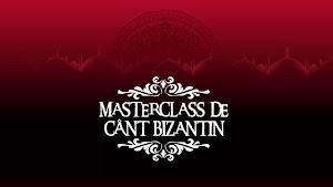 Masterclass de Cânt Bizantin
