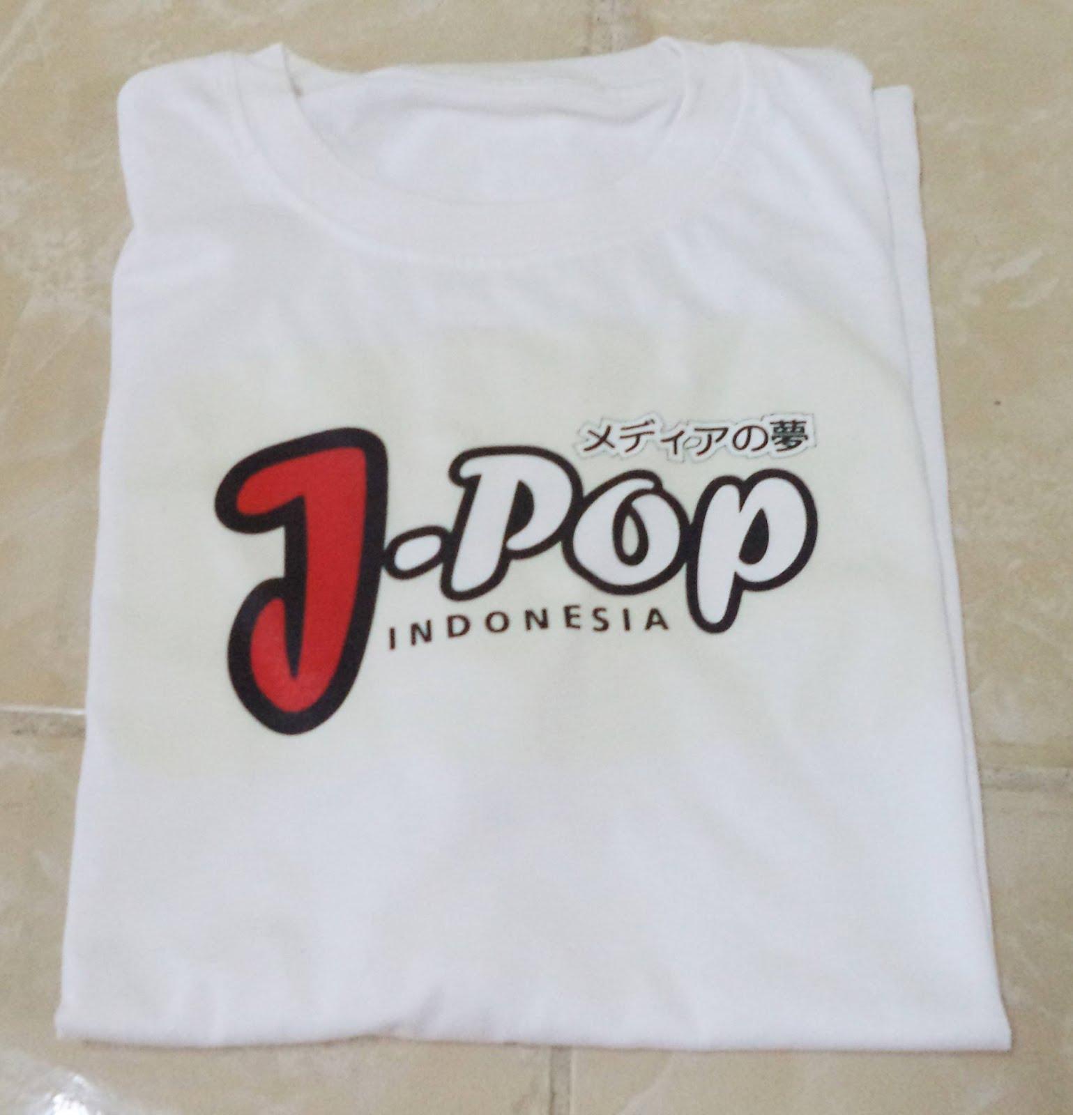 PO Kaos JPOP Indonesia