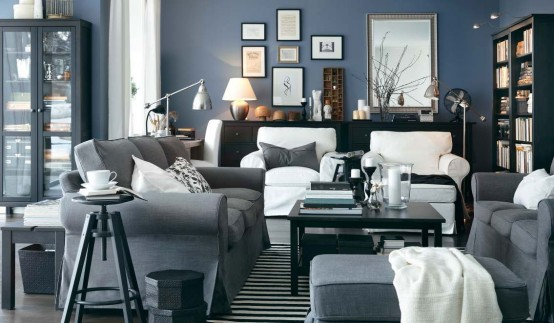 Modern House New Ikea Living Room Design Ideas 2012 Catalog