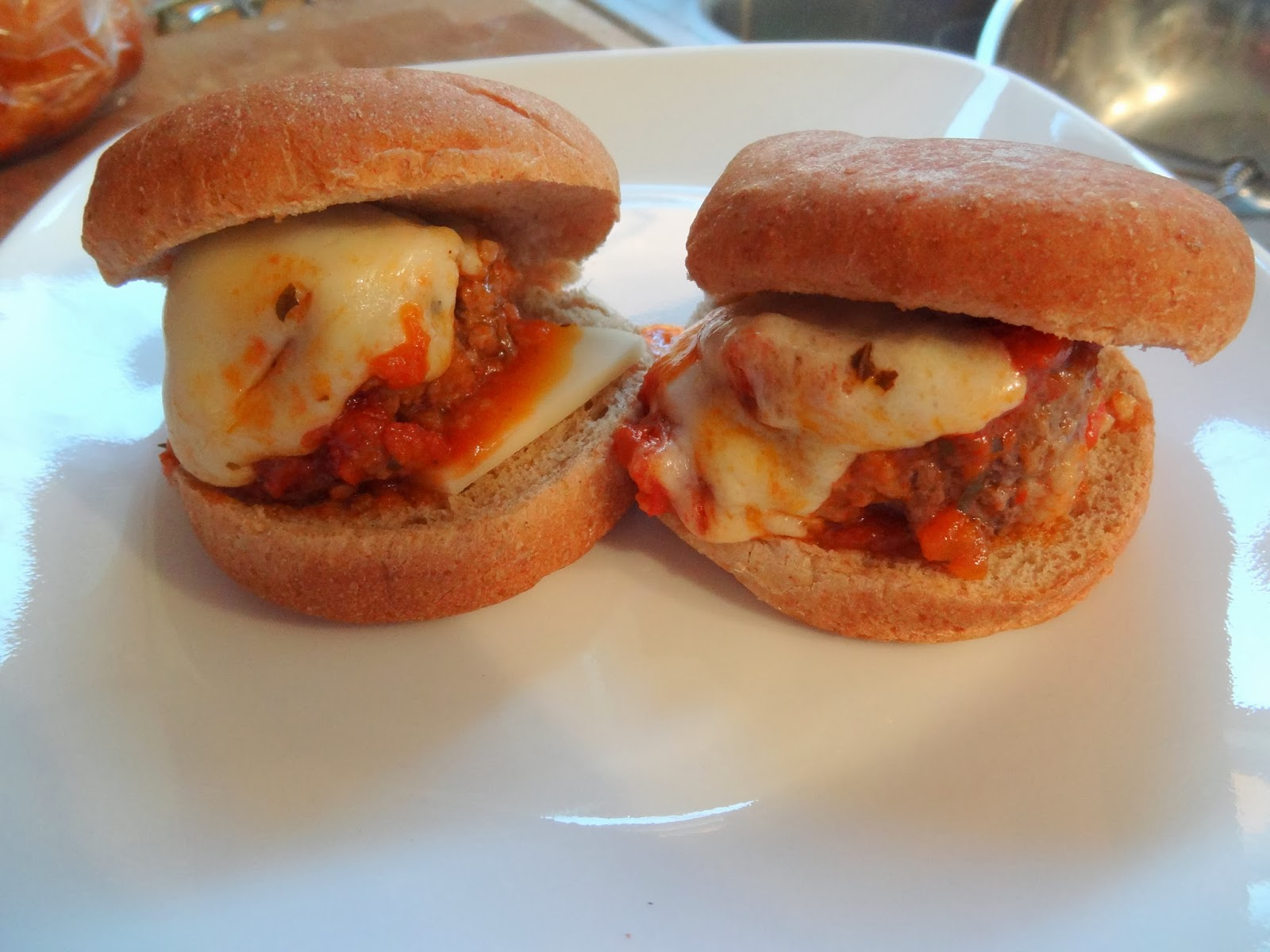 cooking with crystal: Mini Meatball Sandwiches