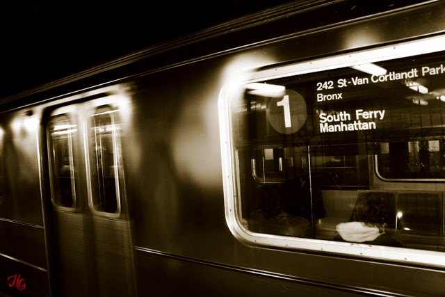 NYC, Subway, Haley Carpenter Photography