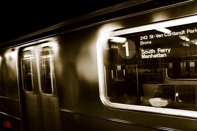 NYC, Subway, Haley Carpenter Photography