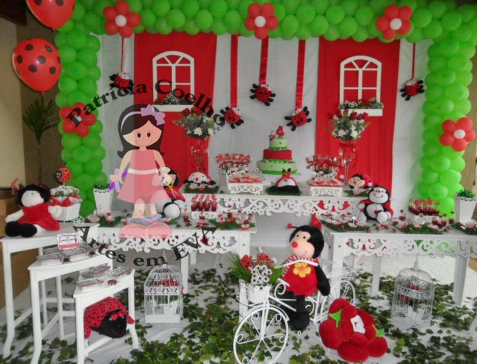 decoracao de festa infantil jardim das joaninhas:Decoração de Val Festas ( Igaraçu do Tietê)