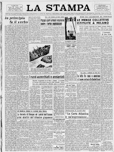 LA STAMPA 11 APRILE 1944