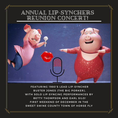 Lip-sync event in jeopardy when it's revealed come performers are singing NOT lip syncing!