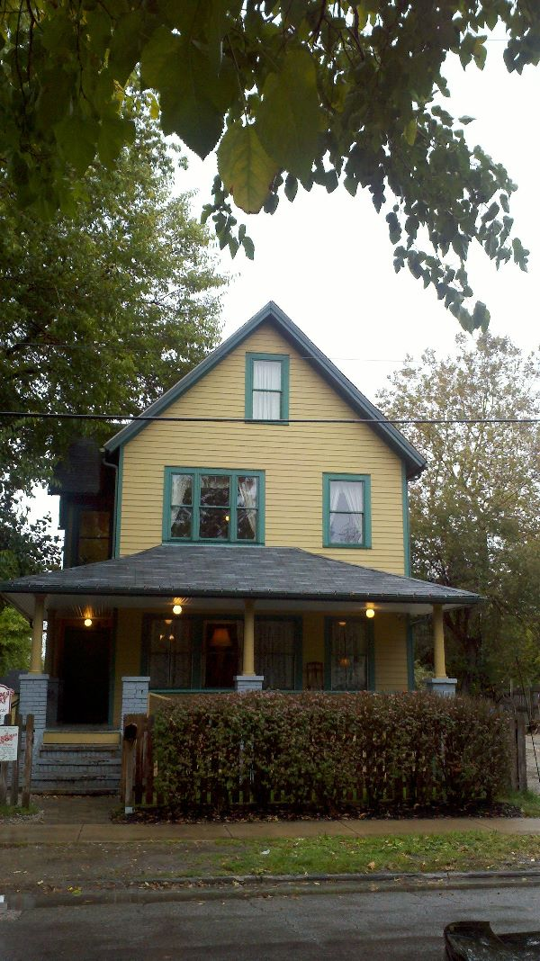 to the a christmas story house its accompanying museum and gift shop yes you can buy replicas of ralphies bunny suit and your very own leg lamp