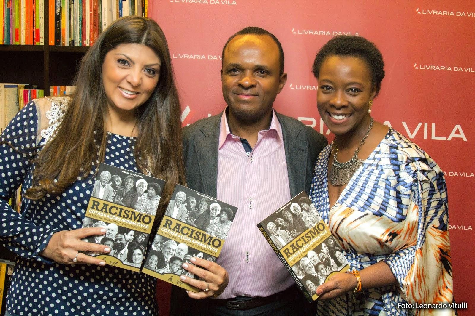 Lançamento livro Racismo: Cotas e Ações Afirmativas
