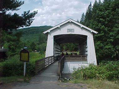 Oregon Covered Bridge, Coos County