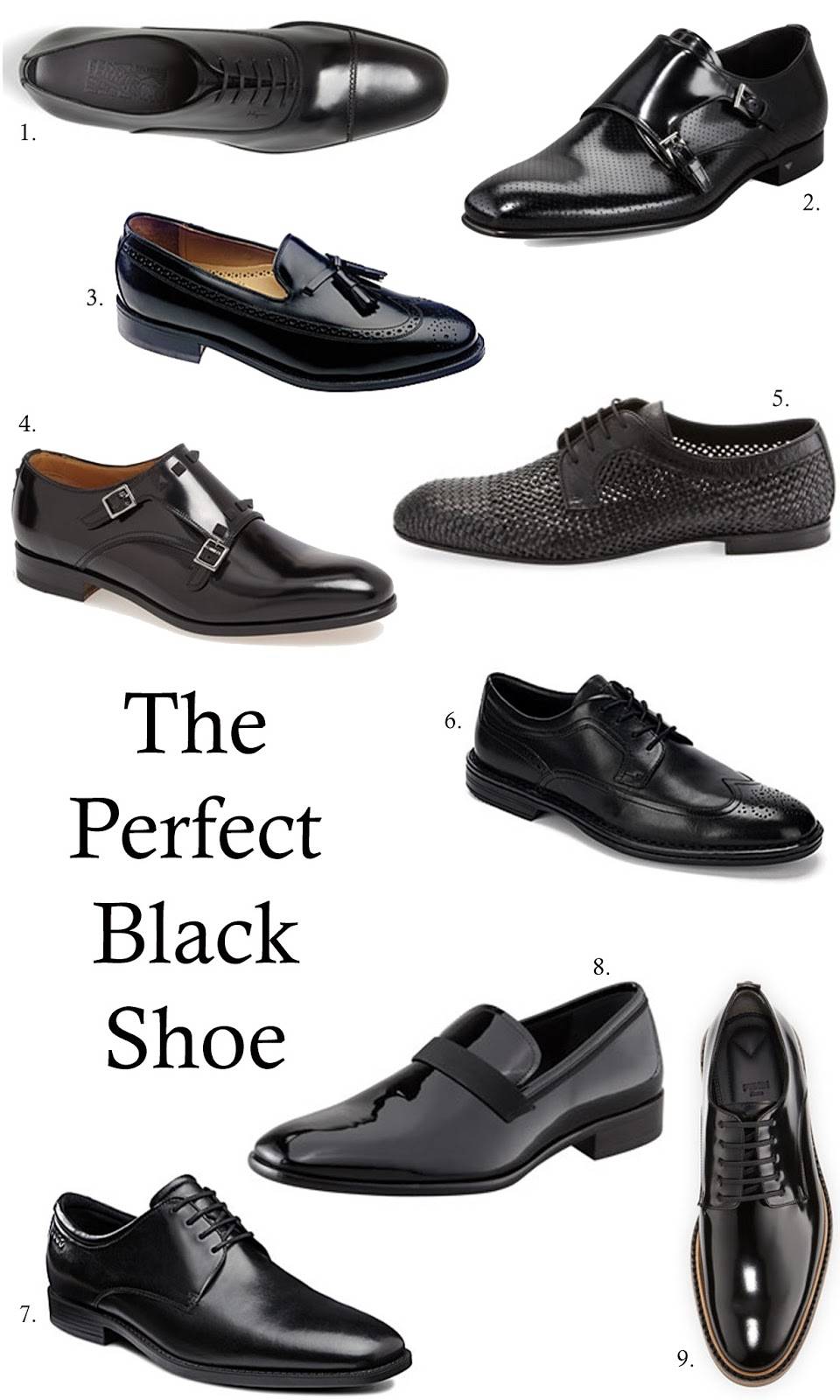 The Perfect Black Shoes