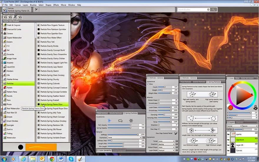 Corel Painter 2015 full version with keygen ~ Hike PC softwares ...