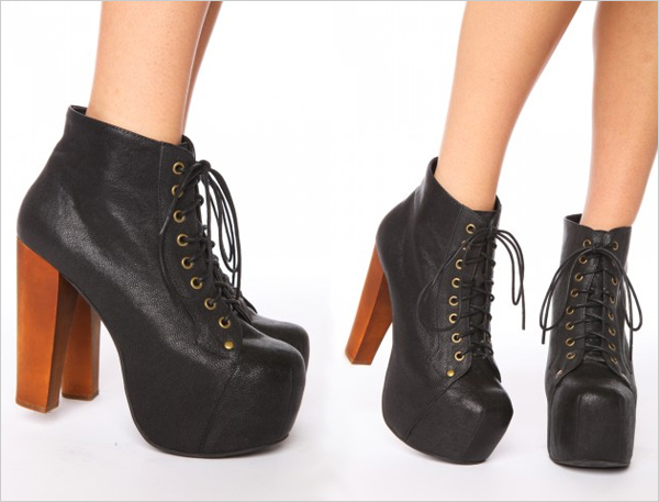 Boutique tricot jeffrey campbell addiction - Jeffrey campbell lita platform boots ...