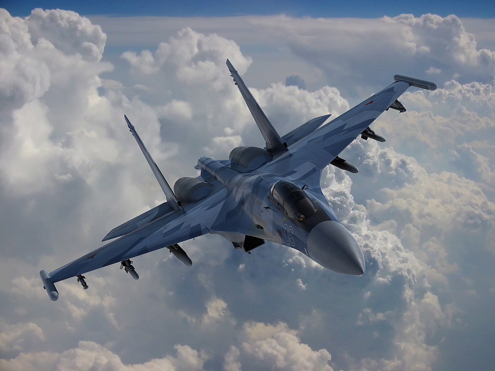 A Russian Su-35 fighter. (Internet photo)