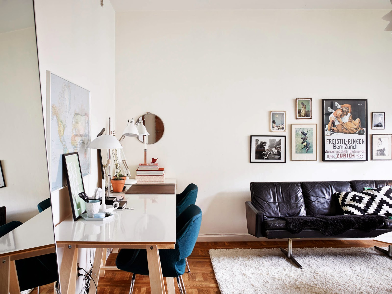 A Gothenburg Apartment With Mid century Touch My