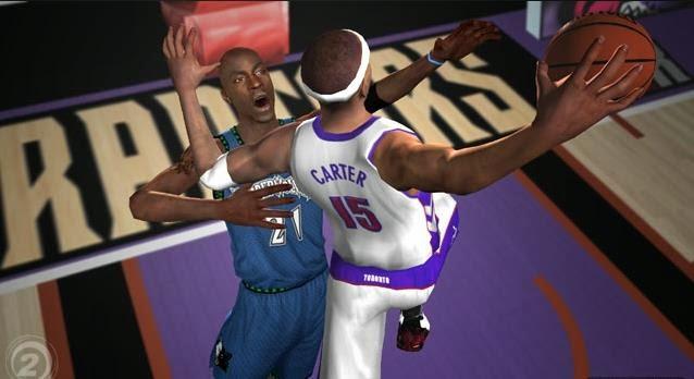 Gameplay NBA Live 2005