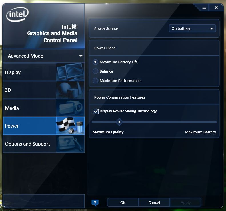 Intel Home Energy Monitor : Acer brightness auto adjustment disabling notebookreview