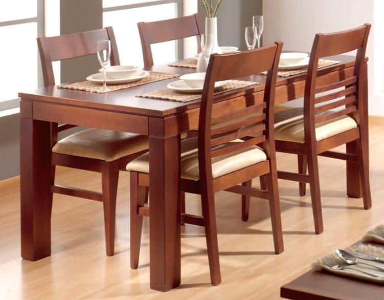 Acabados matiz muebles de comedor for Ver comedores de madera