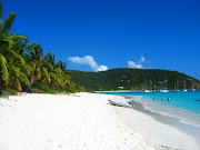 Jost Van Dyke's breathtakingly beautiful White Bay (white bay)