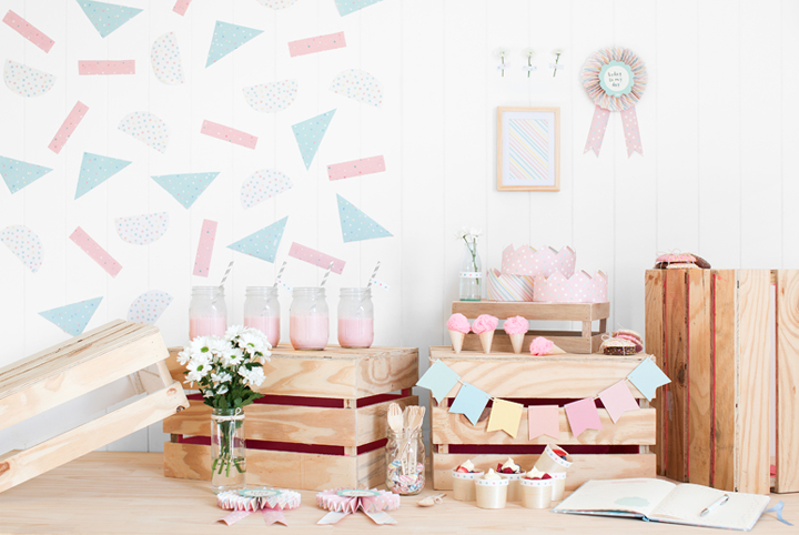 Beautiful paper goods for girls and not only