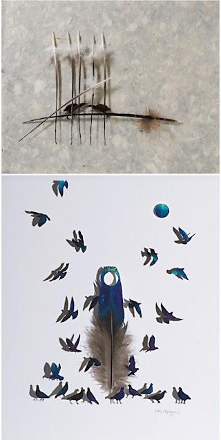 ide kreatif rupa-rupa kerajinan unik dari bulu