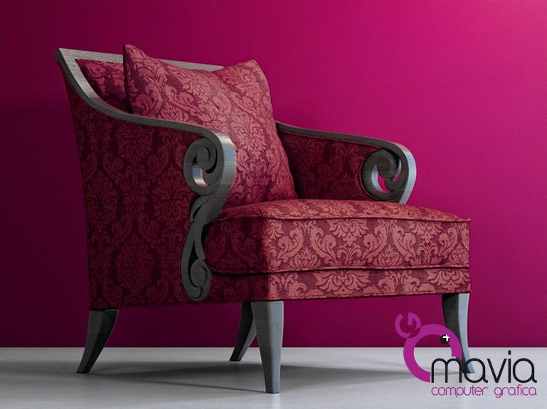 Arredamento di interni poltrone e sofa 3d rendering i for Tessuti poltrone e sofa