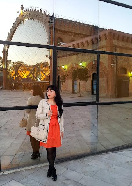 vestido+naranja+primark