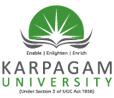 Karpagam University Results 2014 karpagamuniv.com UG, PG MBA