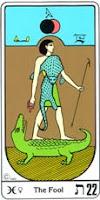 O homem que está no Mundo e ainda é movimentado pelas forças inferiores resolve mudar = Offerus - (O tolo = Tendência aos processos que favorecem a imprudência, a extravagância, o delírio, o envaidecimento ou as paixões desenfreadas em busca de satisfação.)
