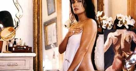 Salma Hayek Desnuda Sin Ropa y