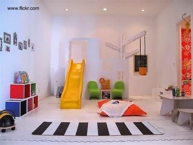 Arquitectura de Casas: Cómo hacer una sala de juegos para los niños.