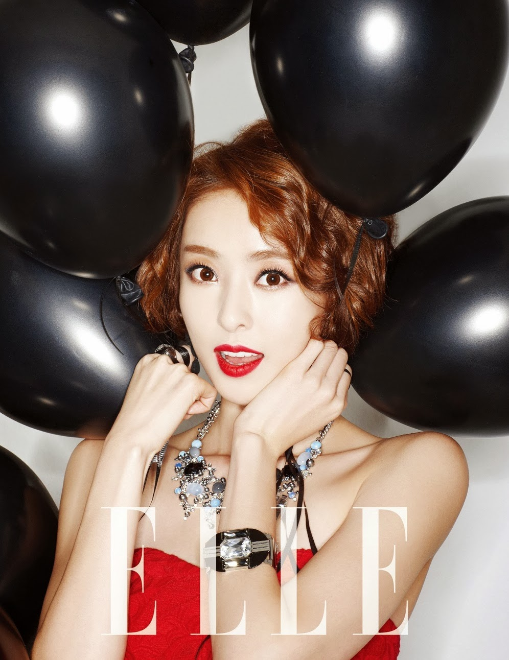 Lee Da Hee - Elle Magazine December Issue 2013
